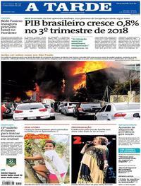 Capa A Tarde 2018-12-01