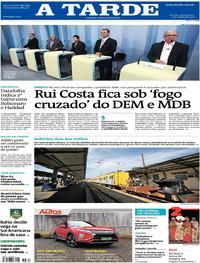 Capa do jornal A Tarde 03/10/2018