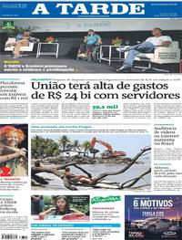 Capa do jornal A Tarde 22/09/2018