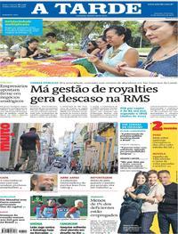 Capa do jornal A Tarde 23/09/2018