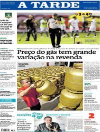 Capa do jornal A Tarde 24/09/2018