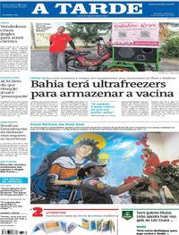 Capa do jornal A Tarde 04/12/2020