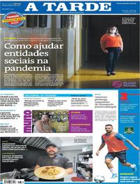 Capa do jornal A Tarde 05/04/2020