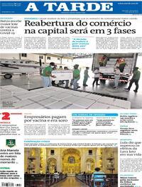 Capa do jornal A Tarde 02/04/2021