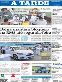 Capa do jornal A Tarde 03/03/2021