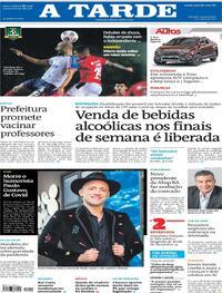 Capa do jornal A Tarde 05/05/2021