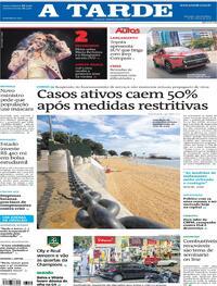Capa do jornal A Tarde 17/03/2021