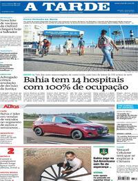 Capa do jornal A Tarde 26/05/2021