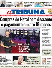 Capa A Tribuna 2017-12-13