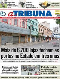 Capa A Tribuna 2018-08-17