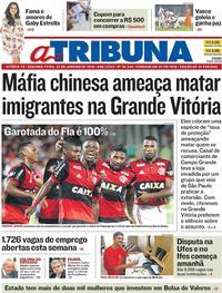 Capa A Tribuna 2018-01-22
