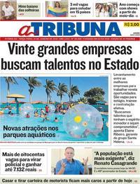 Capa A Tribuna 2019-01-01