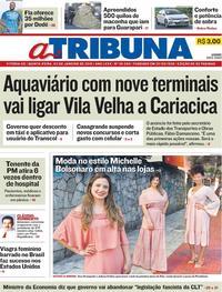 Capa A Tribuna 2019-01-03