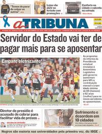Capa A Tribuna 2019-11-14