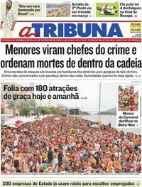 Capa A Tribuna 2020-02-24