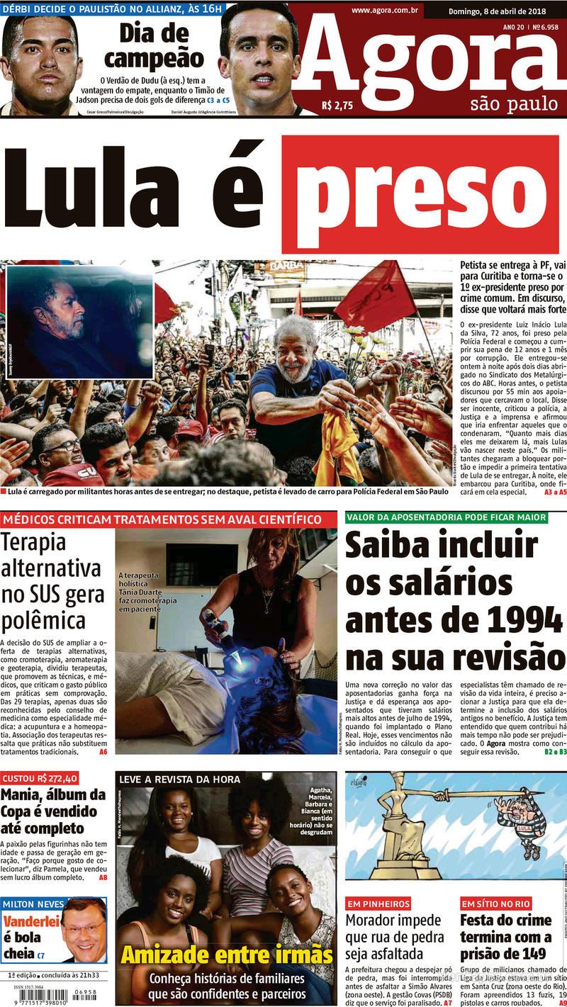 Capa Agora 2018-04-08