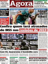 Capa Agora 2018-10-15