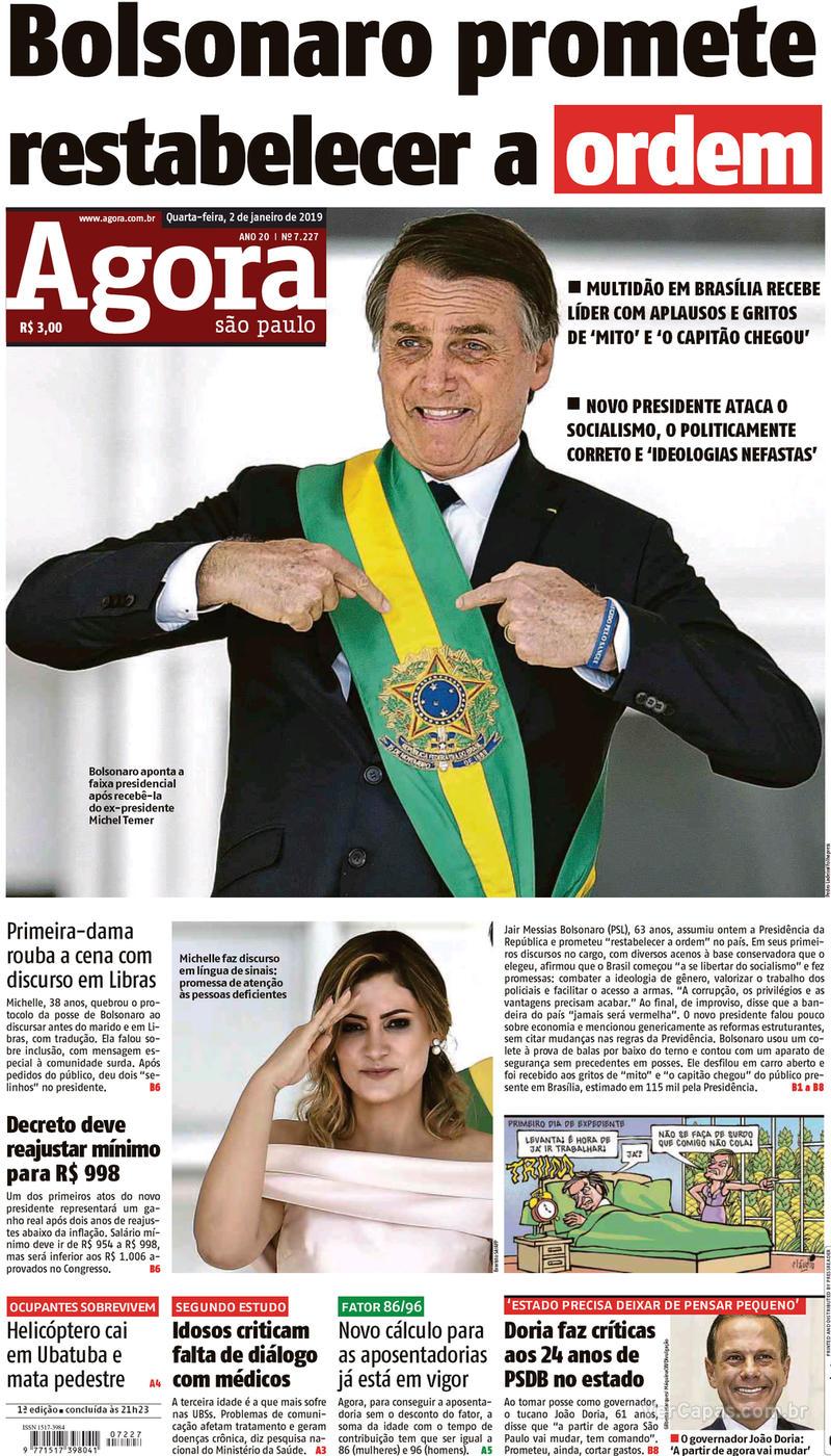 Capa Agora 2019-01-02