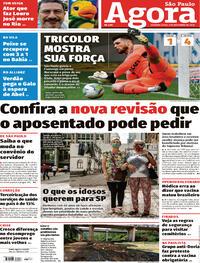 Capa do jornal Agora 02/11/2020