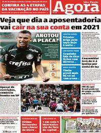 Capa do jornal Agora 03/12/2020