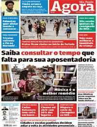 Capa do jornal Agora 06/09/2020