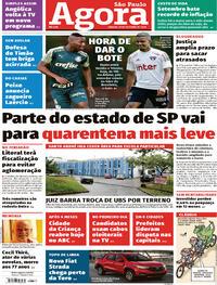 Capa do jornal Agora 10/10/2020