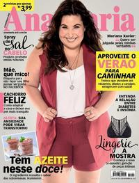 Capa da revista Ana Maria 28/11/2018