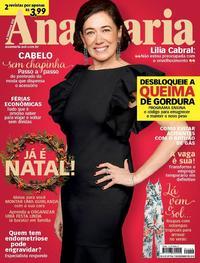 Capa da revista Ana Maria 05/12/2018