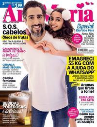 Capa da revista Ana Maria 08/08/2018