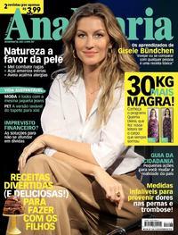 Capa da revista Ana Maria 10/10/2018