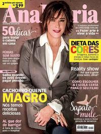 Capa da revista Ana Maria 14/11/2018