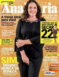 Capa da revista Ana Maria 17/10/2018