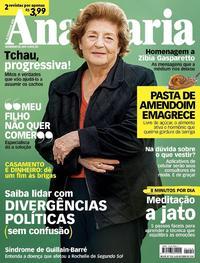 Capa da revista Ana Maria 24/10/2018