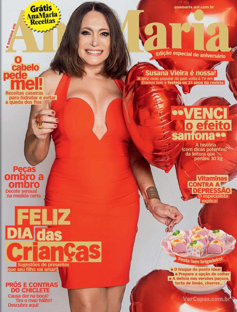 Capa da revista Ana Maria 09/10/2019
