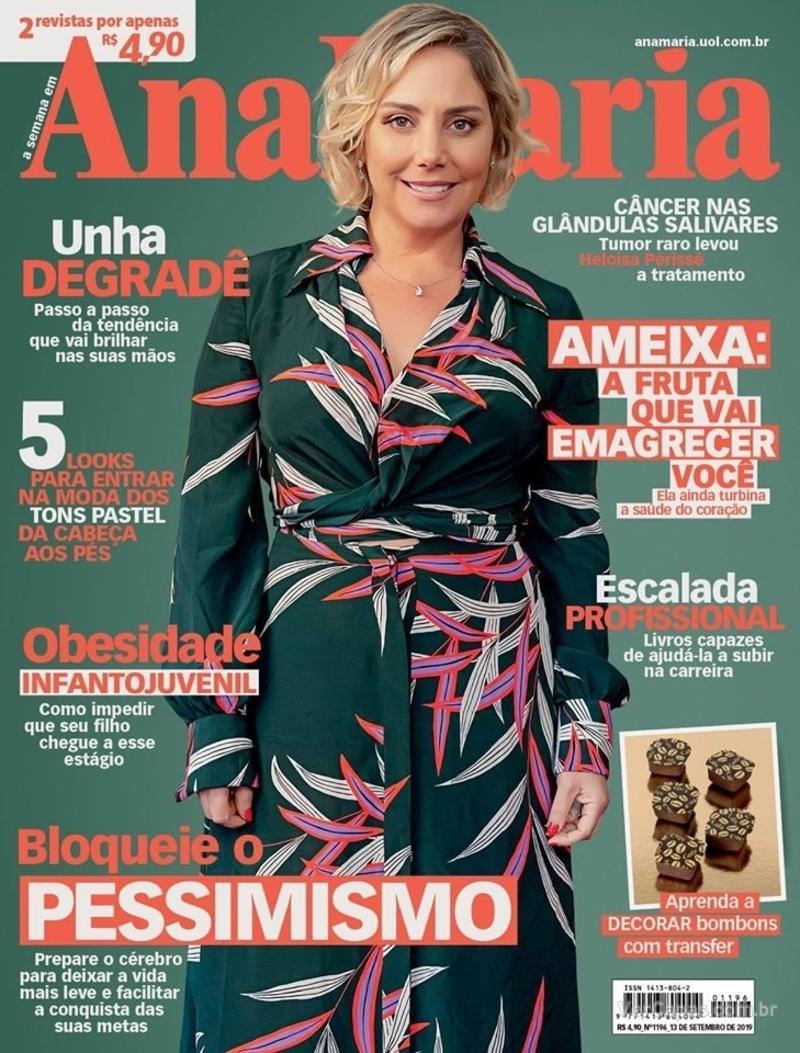 Capa da revista Ana Maria 13/09/2019