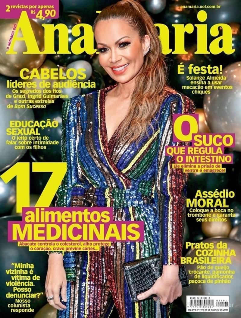 Capa revista Ana Maria 14/08/2019