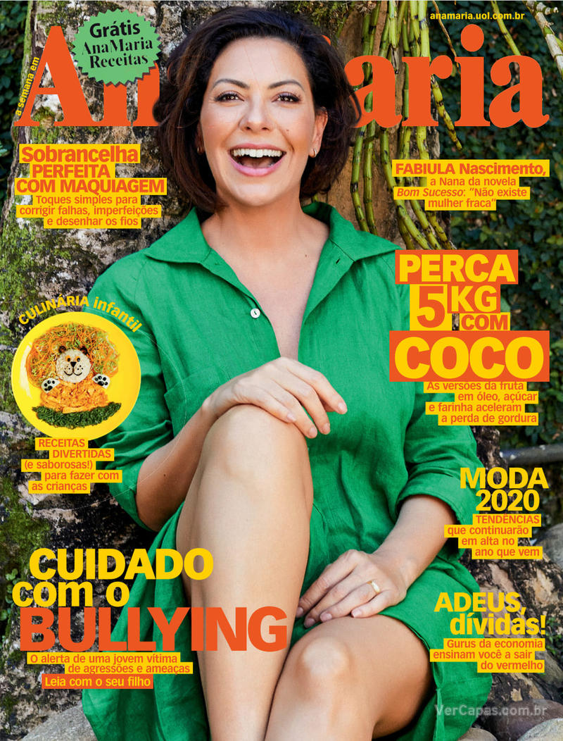 Capa revista Ana Maria 16/10/2019