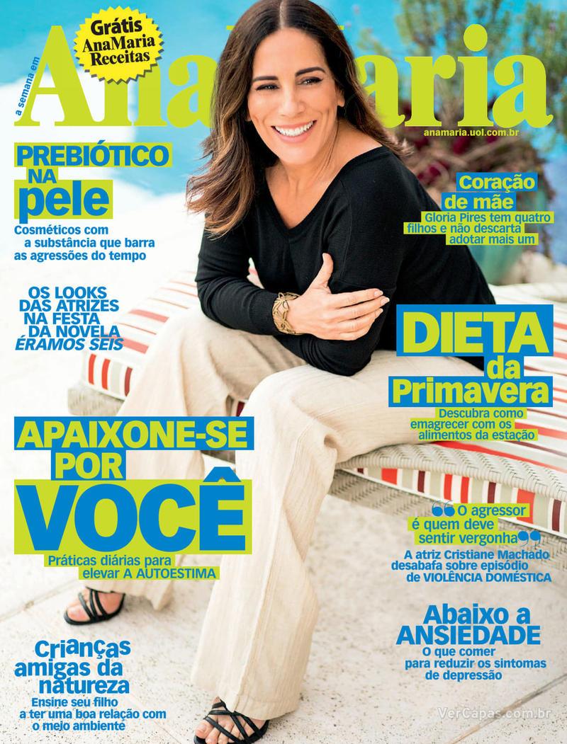 Capa da revista Ana Maria 25/09/2019