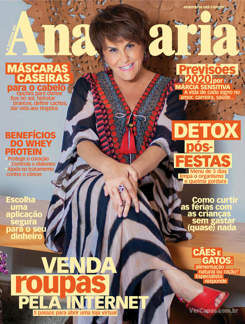 Capa da revista Ana Maria 27/12/2019