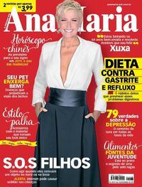 Capa da revista Ana Maria 15/02/2019