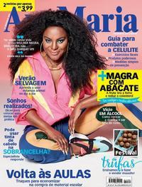 Capa da revista Ana Maria 16/01/2019