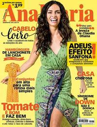 Capa da revista Ana Maria 03/04/2019