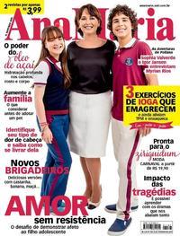 Capa da revista Ana Maria 20/02/2019