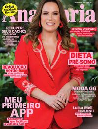 Capa da revista Ana Maria 01/11/2019