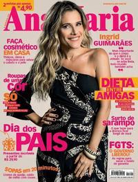 Capa da revista Ana Maria 07/08/2019