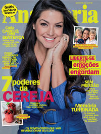 Capa da revista Ana Maria 07/09/2019