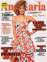Capa da revista Ana Maria 08/11/2019
