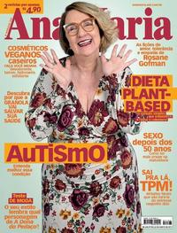 Capa da revista Ana Maria 26/08/2019