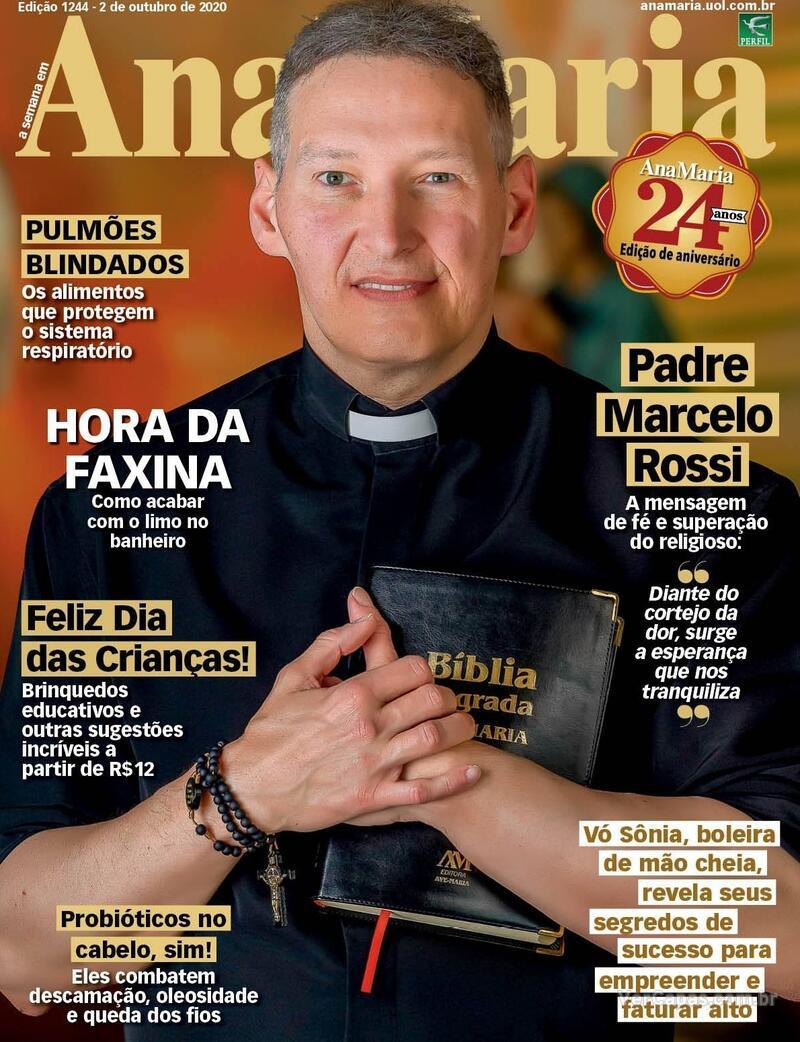 Capa da revista Ana Maria 02/10/2020