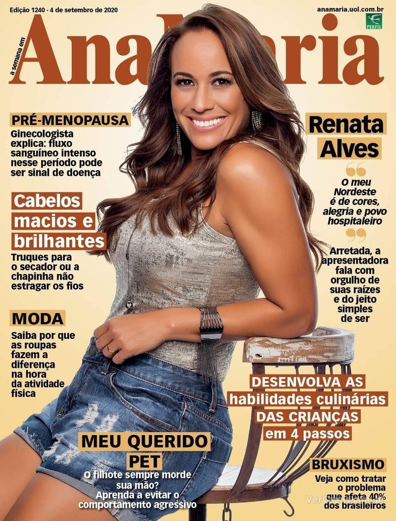 Capa da revista Ana Maria 04/09/2020